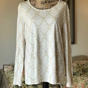 White stag longsleeved tee XL
